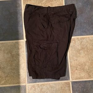 Beverly Hills Polo Club Shorts - Men's black cargo shorts